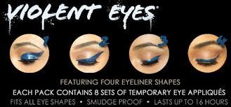 eyeliner tattoo violent eyes pink romance glitteratti violent eyes t4aw tattooforaweek