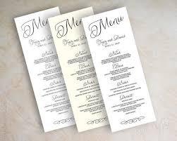 diy wedding menu cards 45 best menu tent cards images on wedding menu