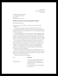 examples of approved hardship letters u2013 letter simple example