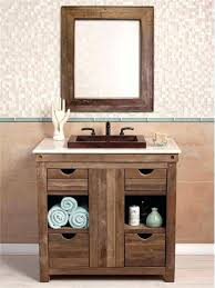 great reclaimed wood bathroom vanity top luannoe within distressed