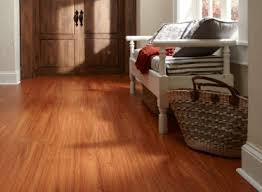 Kitchen Flooring Options Vinyl by African Mahogany Vinyl Is Backed With A Residential 50 Year