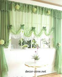 Green Kitchen Curtains Curtain Styles For Kitchens Kitchen Curtain Ideas In Green Kitchen