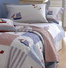 Childrens Duvet Cover Sets Uk Boys U0027 Bedding Boys U0027 Quilts Boats U0026 Kites By Sashi Ginger U0026 May