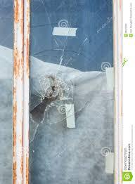 replacement glass front door broken glass front door stock photo image 85575236