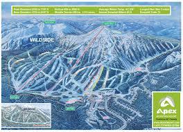 Mt Hood Trail Map Apex Mountain British Columbia Ski North America U0027s Top 100