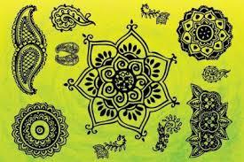 hindu gods spiritual symbols vector vector free ornaments