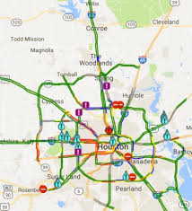 traffic map houston katy txdot hctra working to reopen beltway 8 in houston