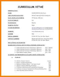 curriculum vitae template leaver resume 10 student cv format pdf apgar score chart