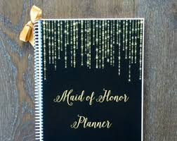 of honor organizer of honor wedding planner book wedding organizer