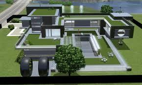 the sims 3 simple modern house u2013 modern house