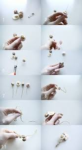 How To Make Boutonnieres Diy Vintage Button Boutonniere