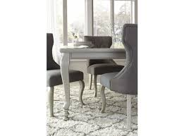 Silver Rectangular Dining Room Extendable Dining Table - Extendable dining room table
