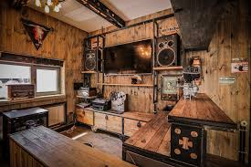 Steam Punk Interior Design Steampunk Interior Bbq Restaurant Interior Design Ideas Bbq