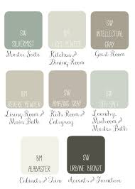 whole house paint scheme idea soothing u0026 sophisticated