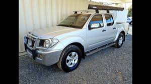 Outlaw Driveaway Awning Automatic Cars 4x4 Turbo Diesel 2006 Nissan Navara D40 For Sale