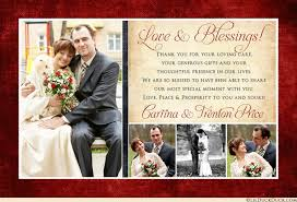wedding love photo thank you card favorite special day