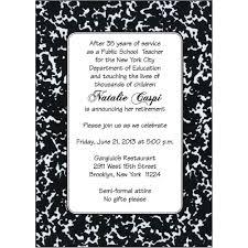 party invitations retirement party invitatons goodbye retirement