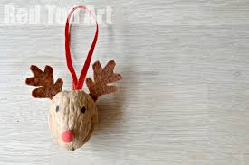 walnut crafts reindeer ornament ted s