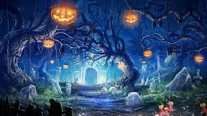 cute halloween background monkey graveyard wallpaper hd