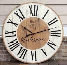 Wall Clocks 25 Best Oversized Wall Clocks Ideas On Pinterest Rustic Wall