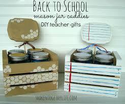35 Halloween Mason Jars Craft Ideas For Using Mason Jars For by Back To Teacher Gift Diy Mason Jar Caddies