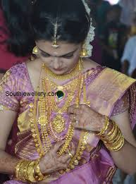 wedding jewellery saranya mohan s wedding jewellery jewellery designs