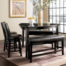 bar stool table set of 2 millennium emory 5 piece triangle pub table set with two 24 inch