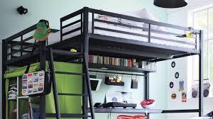 chambre ado avec mezzanine decoration chambre ado avec lit mezzanine visuel 4