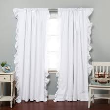 white ruffle blackout curtains scalisi architects