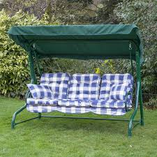 3 Person Swing Cushion Replacement by 19 Garden Swing Seat Replacement Casual Outdoor Canopied 3