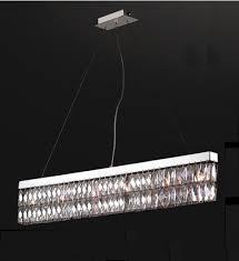 Broadway Linear Crystal Chandelier Linear Chandeliers Elegant Light Harrow Linear Chandelier In Oil