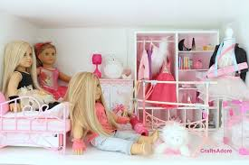 18 Inch Doll Bunk Bed Bedroom Dollhouse Kits For 18 Inch Dolls American Doll Bunk