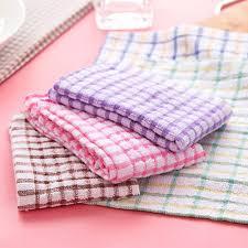 aliexpress com buy cotton microfiber kitchen dish towels