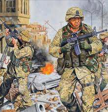 seal snipers in the streets of ramadi everything military