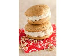 spiced sweet potato whoopie pies