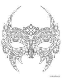 black swan metal filigree laser cut venetian masquerade mask