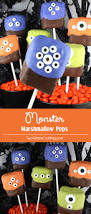 steelers halloween monster marshmallow pops two sisters crafting