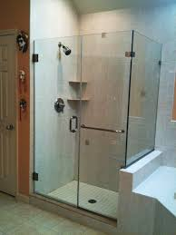 hinged glass shower door bathroom frameless shower enclosures custom shower doors lowes