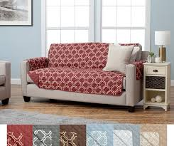 Printed Sofa Slipcovers Adalyn Collection Furniture Protector Home Fashion Designs