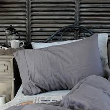 biggie best 100 french linen pillowcases pair bedroom from