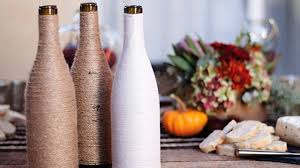 cool diy crafts made from wine bottles youtube