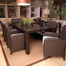 all weather dining table dining room tables seats 8 8 chair patio set all weather wicker