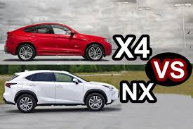 lexus nx 5 year cost to own 2016 lexus nx vs 2016 bmw x4 design youtube