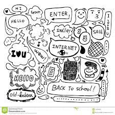 doodle drawings for sale speech doodle stock vector image of copyspace