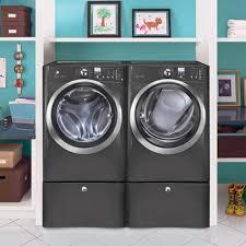 Front Loader Pedestal Amazon Com Electrolux Titanium Steam Front Load Electric Laundry