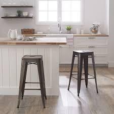 tabouret 30 inch vintage and gunmetal bar stools set of 2 free