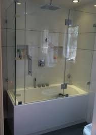 frameless glass tub doors frameless bathtub enclosure glass tub enclosures pinterest