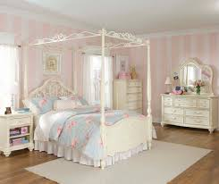 Pink Canopy Bed Captivating Canopy Bed Design For Teenage Girls Bedroom Scheme