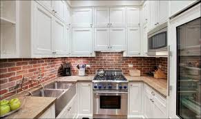 brick backsplash kitchen kitchen peel n stick backsplash tile that looks like brick
