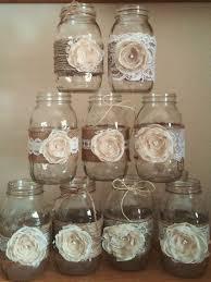 mason jar centerpieces rustic mason jars wedding